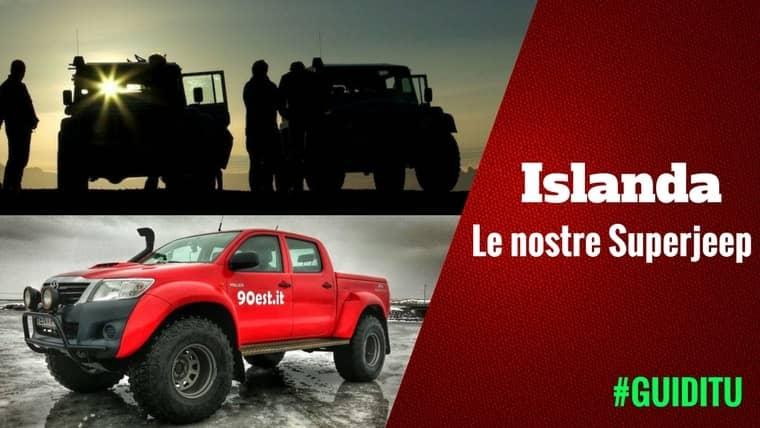 Viaggi in islanda in Super Jeep