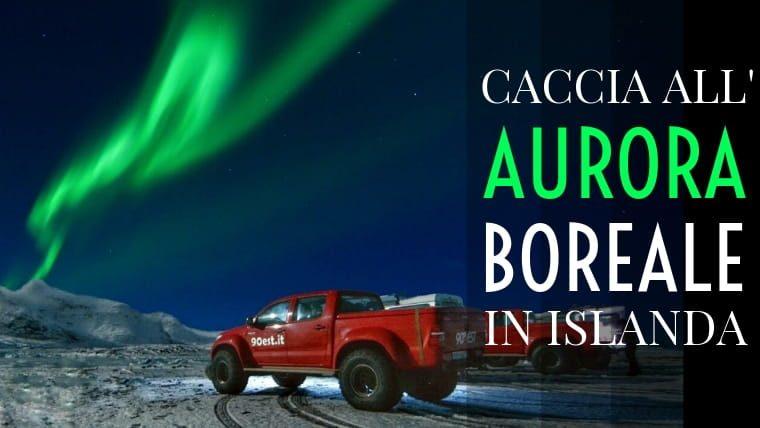 Islanda Aurora Boreale