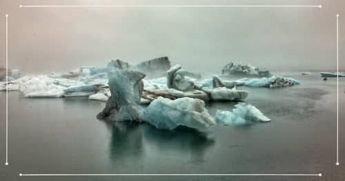 Jökulsárlón durante un viaggio estivo in Islanda