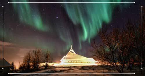 Aurora Boreale in Islanda durante un viaggio invernale in Islanda