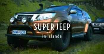 Viaggio in Islanda in Super Jeep