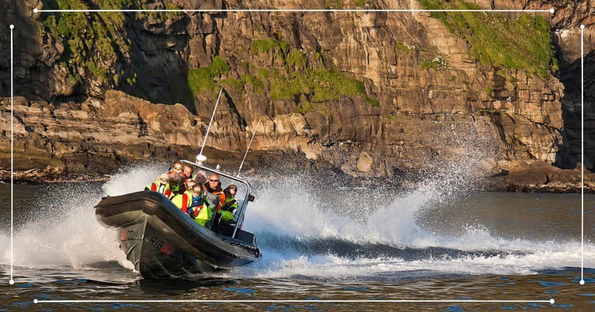 Viaggio Isole Faroe - Escursione in gommone