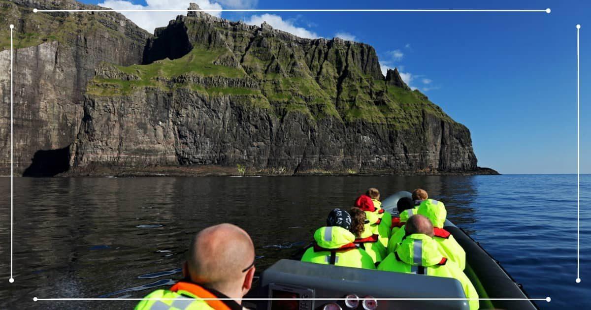 Viaggio Isole Faroe - Escursione in barca alle scogliere
