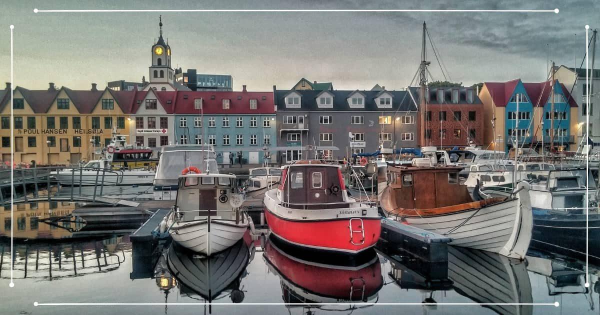 Viaggio Isole Faroe - Porto di Tórshavn