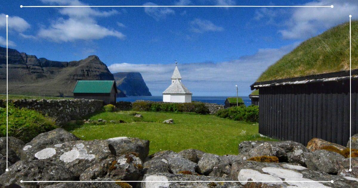 Viaggio Isole Faroe - Chiesa a Viðareiði