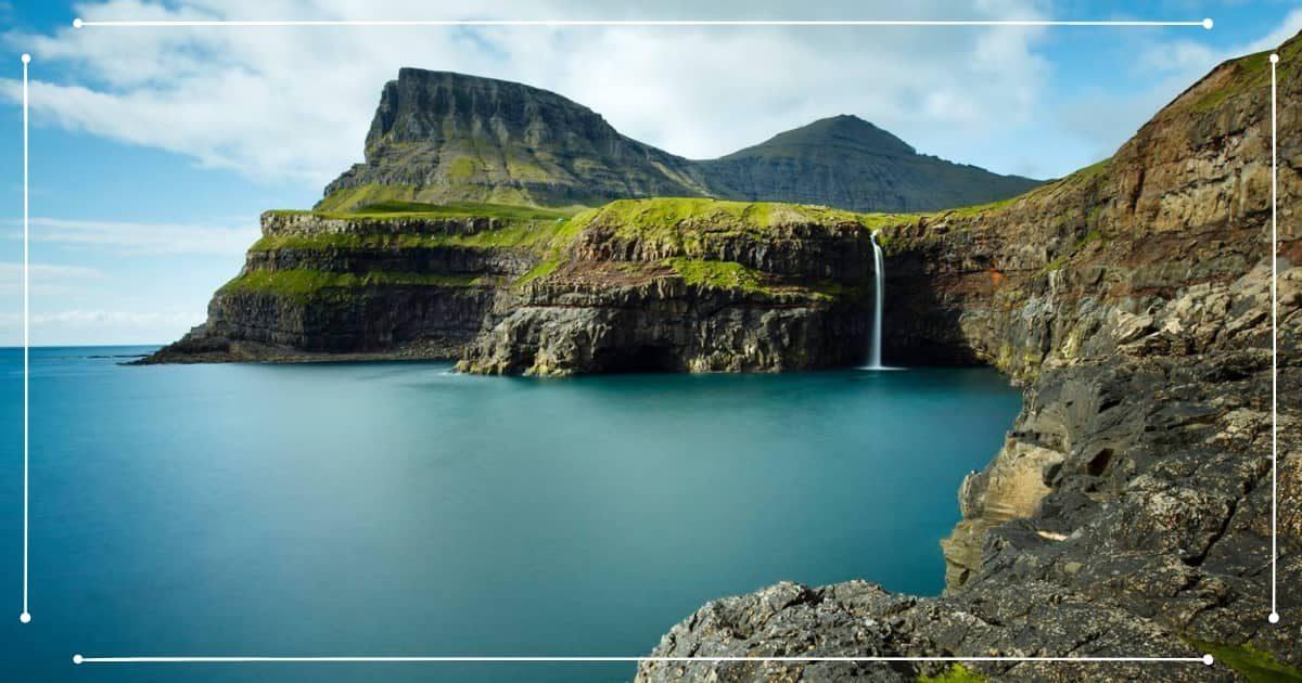 Viaggio Isole Faroe - Cascate Isola di Vagar