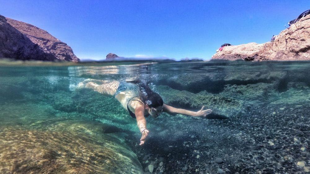 Piscina naturale a Fuerteventura