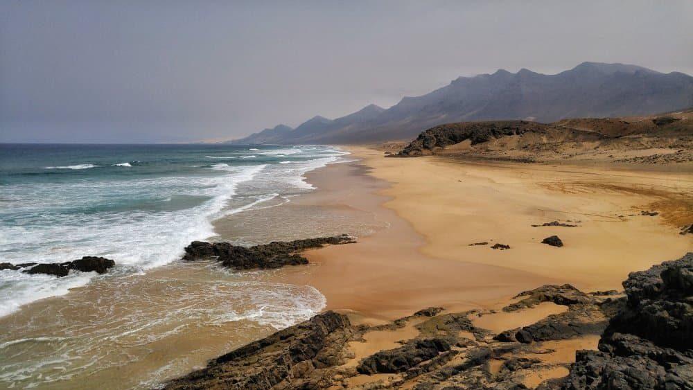 Spiaggia di Cofete sulla Penisola di Jandía