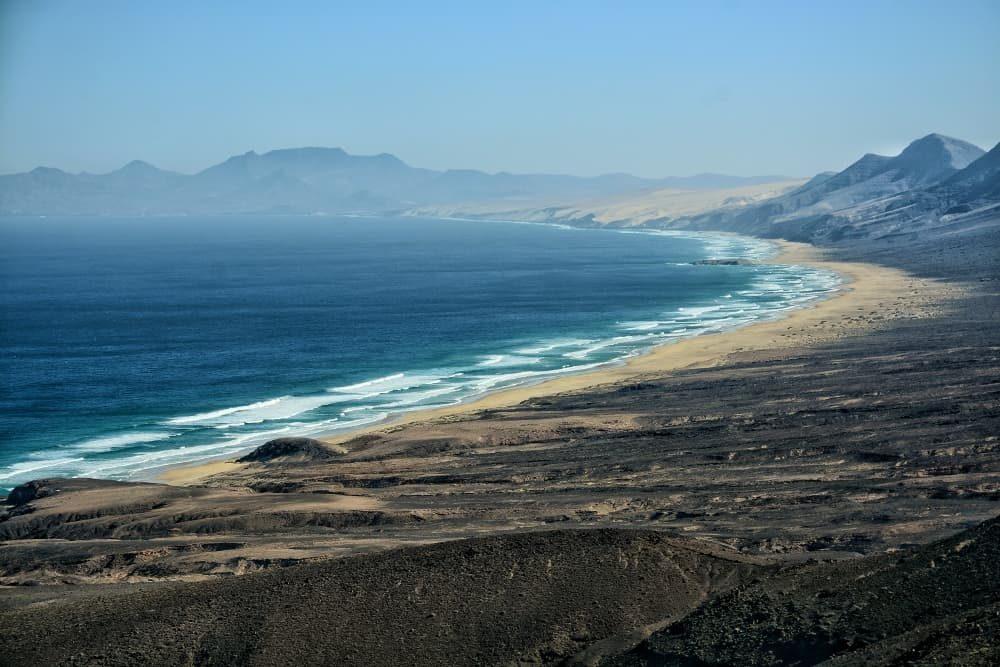 Spiaggia di Cofete a Fuerteventura