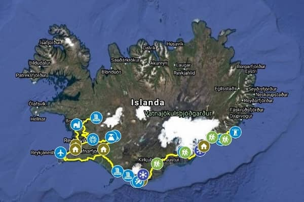 Itinerario Islanda Aurora Boreale