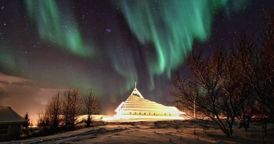 Viaggio in Islanda aurora boreale