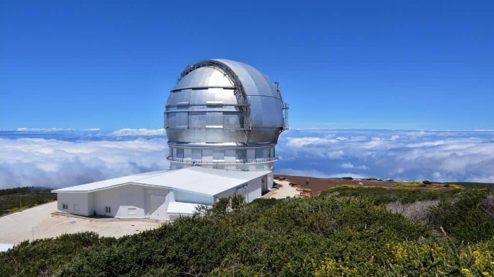 La Palma: Telescopio Grantecan