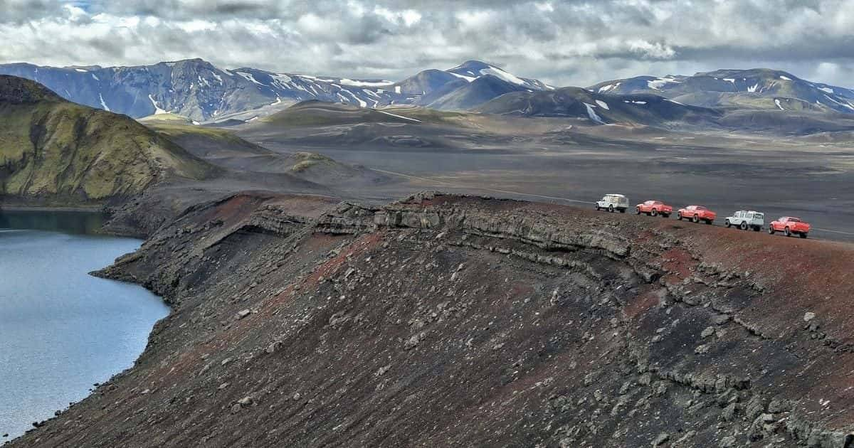 Islanda - Altopiani in 4x4