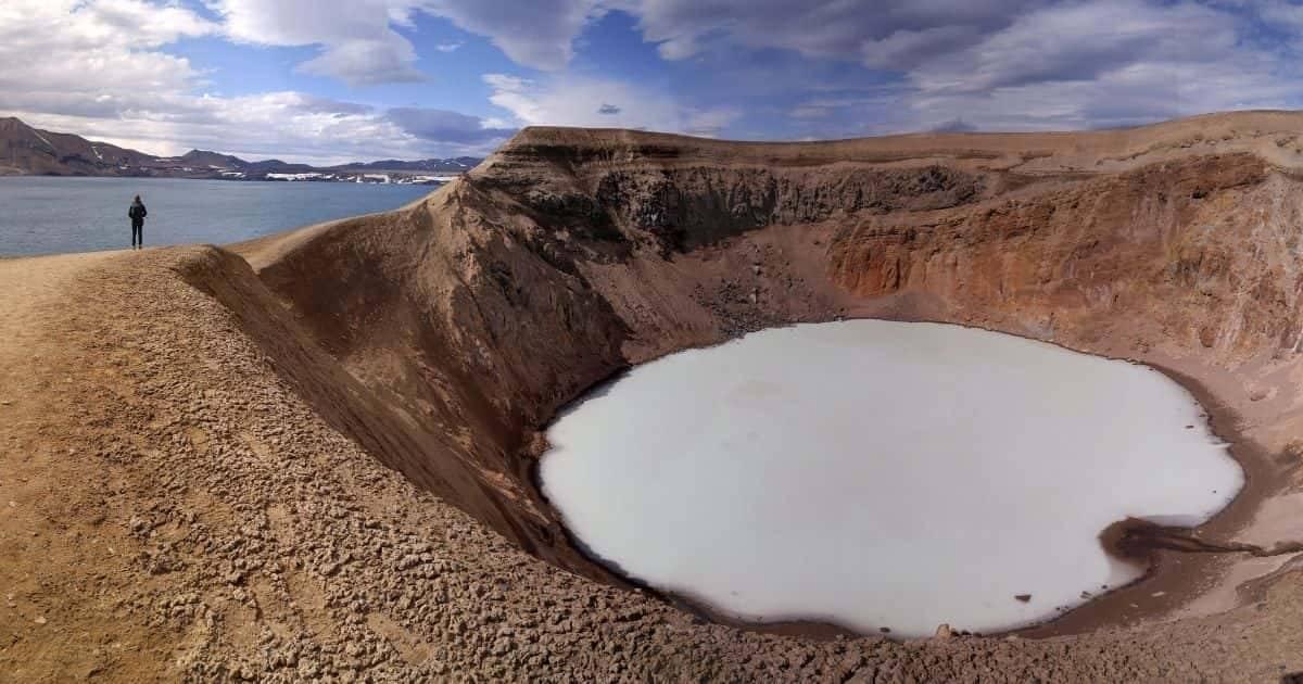 Islanda - Lago Viti Vulcano Askja
