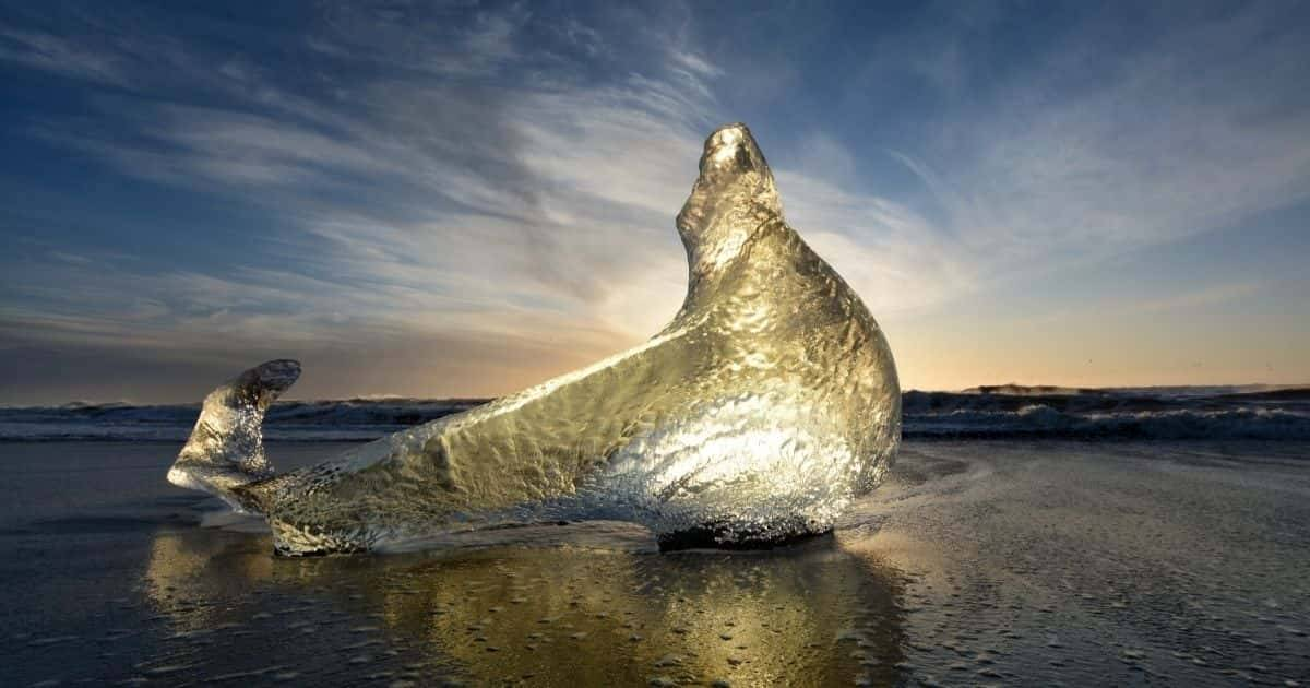 Islanda - Diamond Beach
