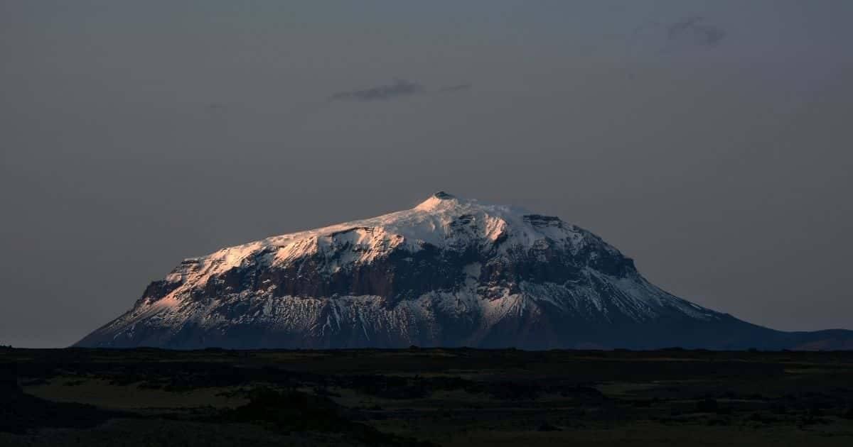 Islanda - Vulcano Herðubreið